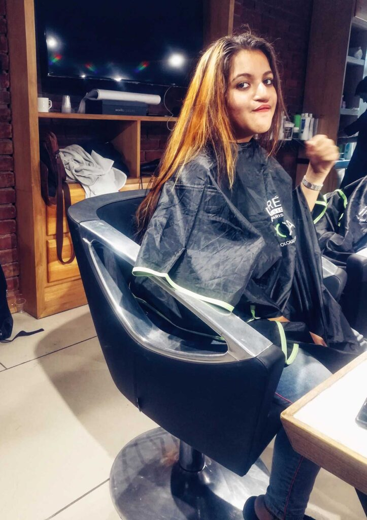 Smartbond hair color
