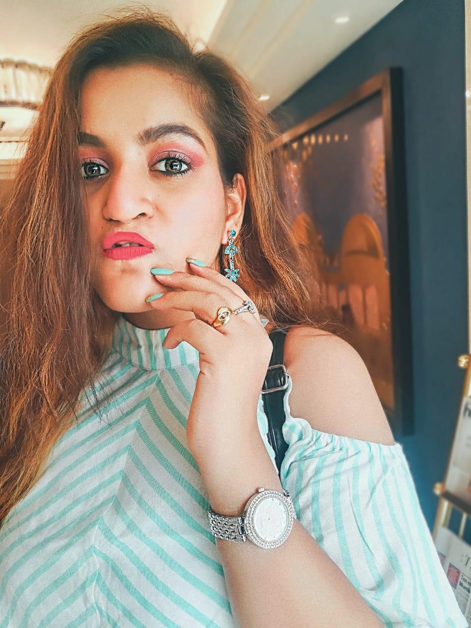 Rakhi makeup look